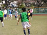 サッカー部練習風景