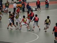 ハンドボール部練習風景
